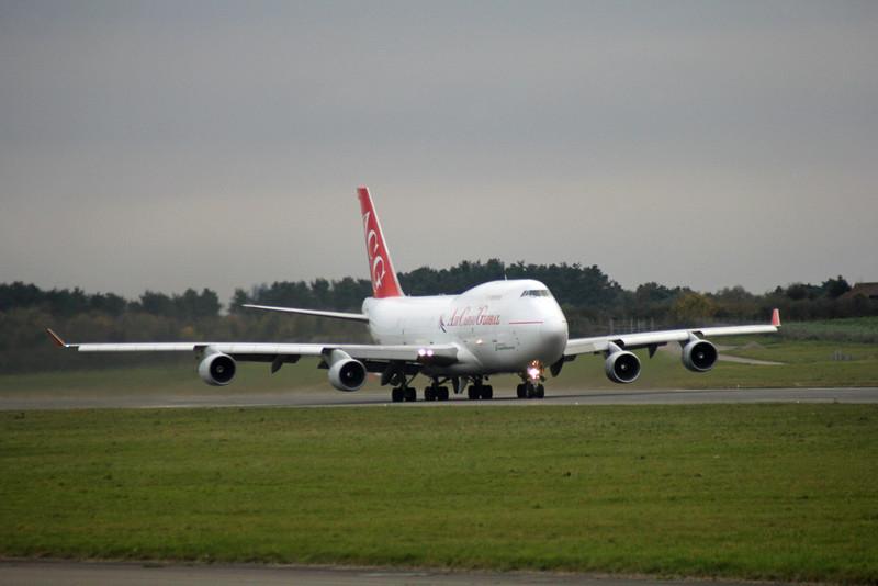 Air Cargo Global 747-400 OM-ACG<br /> By Graham Vlacho.