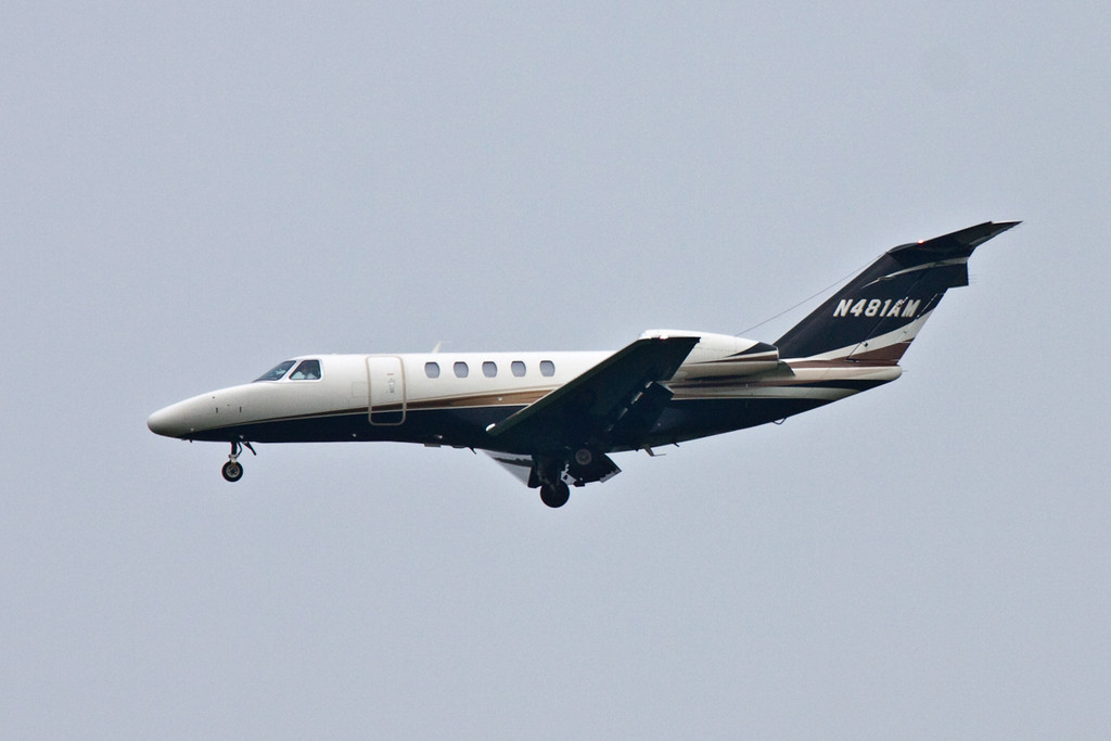 e-Sixt GmbH, Cessna 525C Citation CJ4, N481AM<br /> By David Bladen.