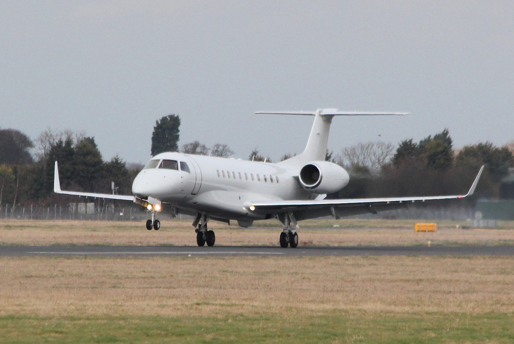 Air X Embraer 135BJ Legacy 600, 9H-JPC<br /> By Clive Featherstone.