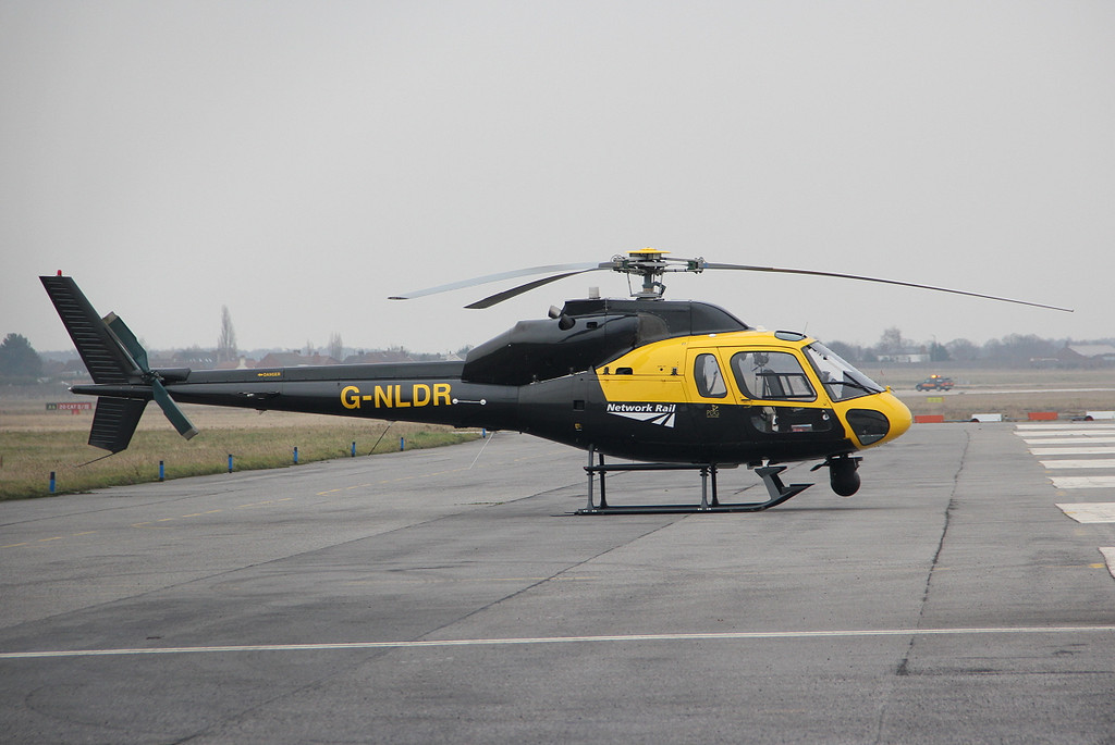 A new mount for Network Rail.......Aerospatiale AS355F2 Ecureuil II, G-NLDR.<br /> By Clive Featherstone.