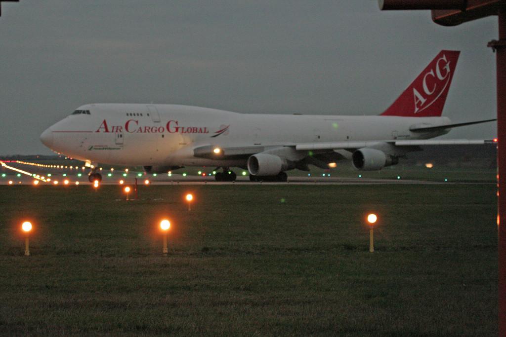 Air Cargo Global 747-400F OM-ACG.<br /> By Graham Vlacho.