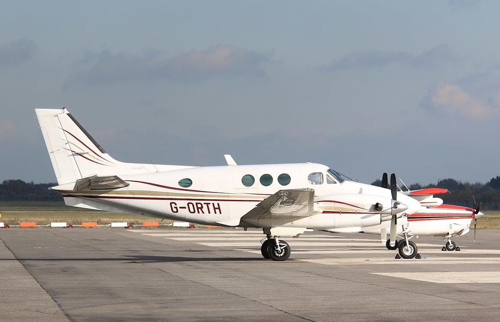 Gorthair Ltd, Beech King Air E90, G-ORTH<br /> By Correne Calow.
