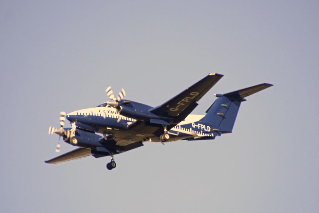 Cobham Flight Inspection Ltd, Beech 200 Super King Air, G-FPLD<br /> By Graham Vlacho.