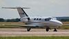 Saxonair Charter Ltd, Cessna 510 Mustang, G-KLNW.<br /> By Correne Calow.