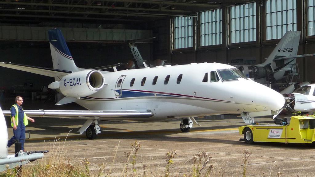 London Executive Aviation, Cessna 560XL Citation XLS, G-ECAI<br /> By Correne Calow.