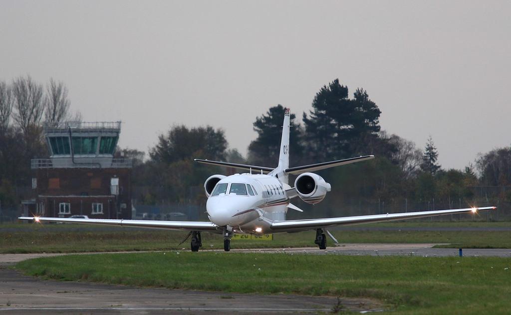 Netjets Europe, Cessna 560XL Citation XLS, CS-DXE <br /> By Correne Calow.