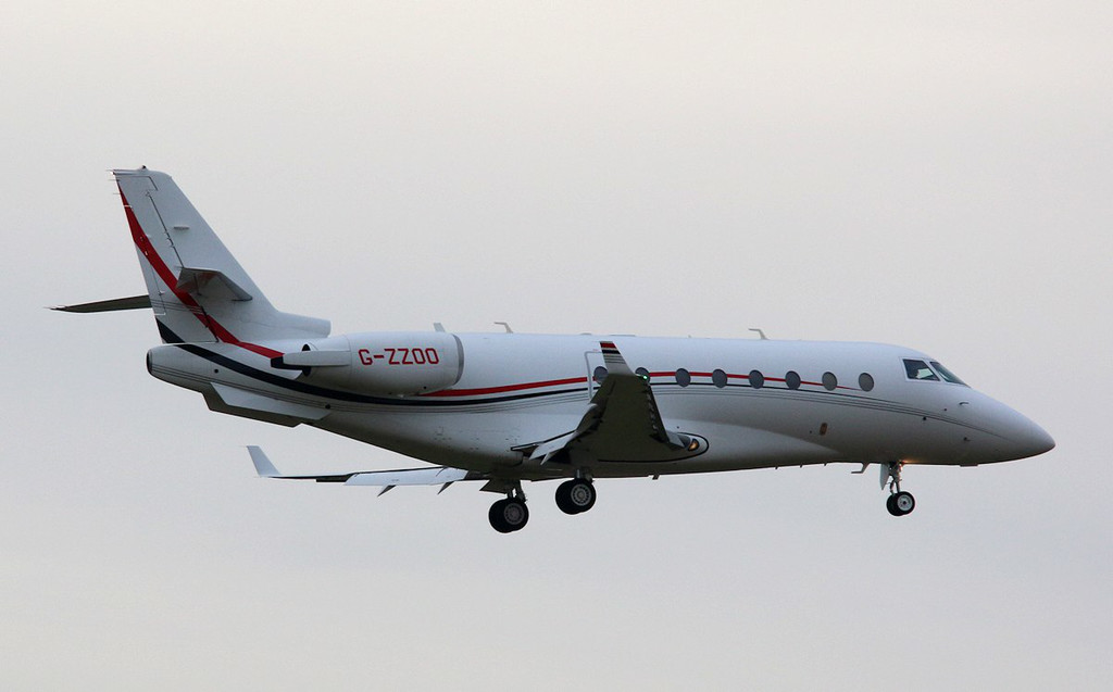 Pendley Aviation, Gulfstream G200, G-ZZOO<br /> By Correne Calow.