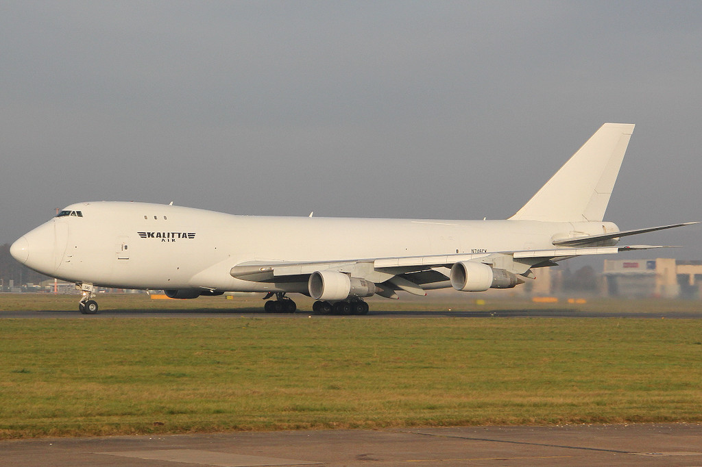 Kalitta Air Boeing 747-246F(SCD), N746CK<br /> By Clive Featherstone.