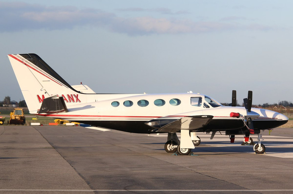Mastercraft Ltd Cessna 425 Conquest 1, M-MANX<br /> By Correne Calow.