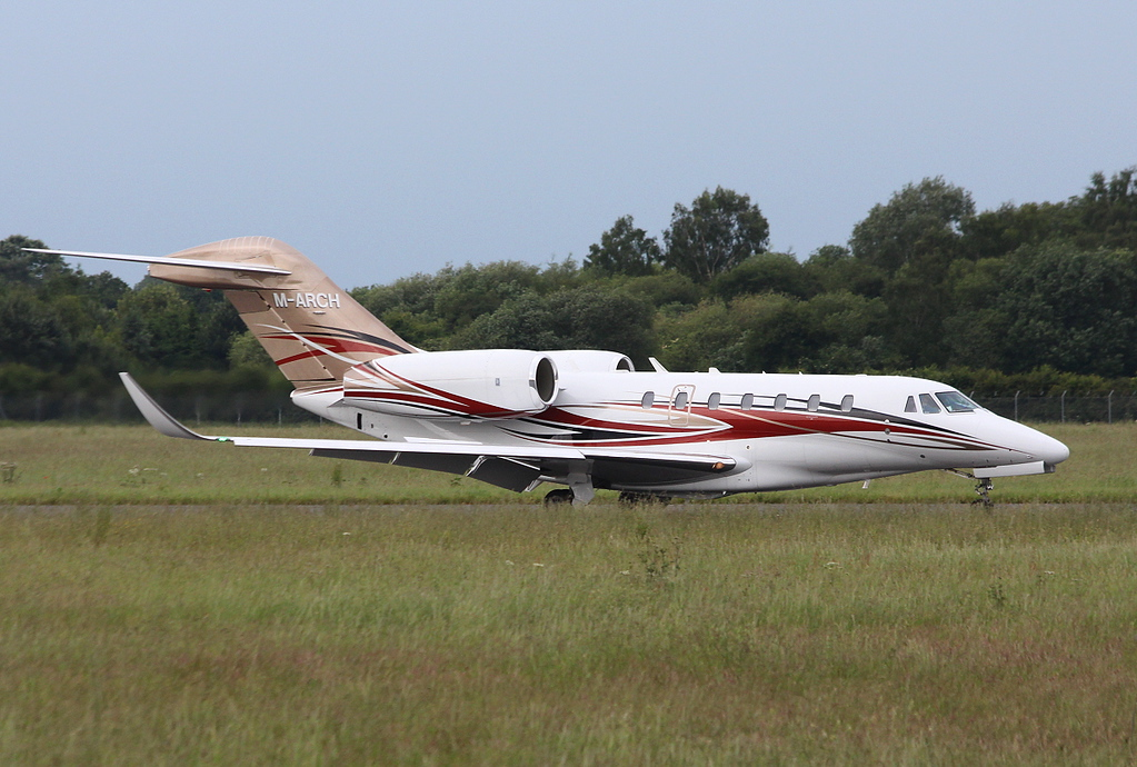 Archilda International, Citation 750X, M-ARCH<br /> By Clive Featherstone.