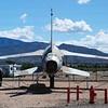 Republic F-105D Thunderchief 61-0107 rear