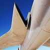 Republic F-105D Thunderchief 61-0107 wing root