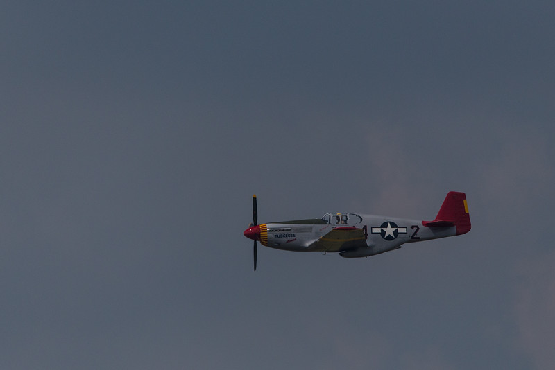 """Tuskegee Airmen""   Red Tail  P51C"