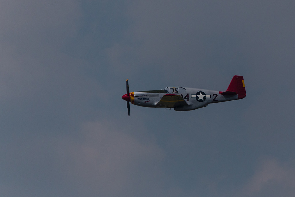 """""""Tuskegee Airmen""""   Red Tail  P51C"""