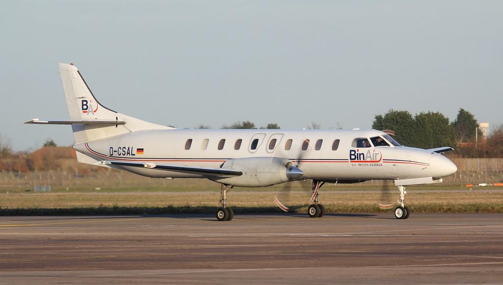 Bin Air Swearingen SA-227AC Metro III D-CSAL.<br /> By Jim Calow.