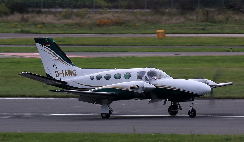 Aerowest Cessna 425 Conquest I, D-IAWG<br /> By Correne Calow.