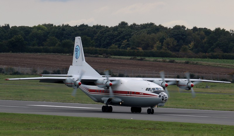 Ukraine Air Alliance Antonov An-12BK, UR-CAJ<br /> By Correne Calow.
