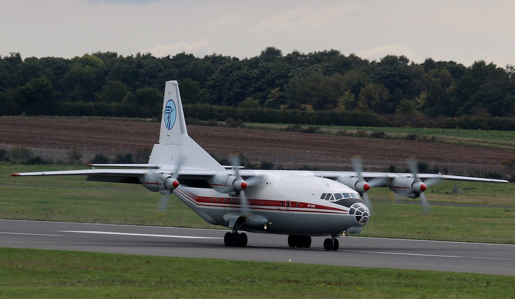 Ukraine Air Alliance Antonov An-12BK, UR-CAJ<br /> By Correne Calow.
