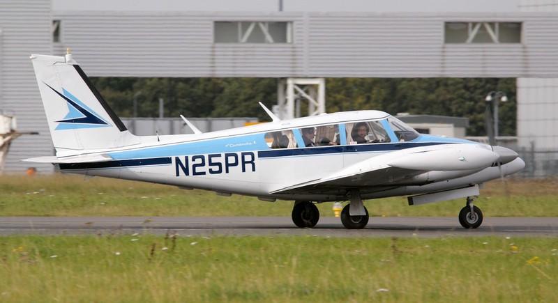 Piper PA-30 Twin Comanche, N25PR<br /> By Jim Calow.