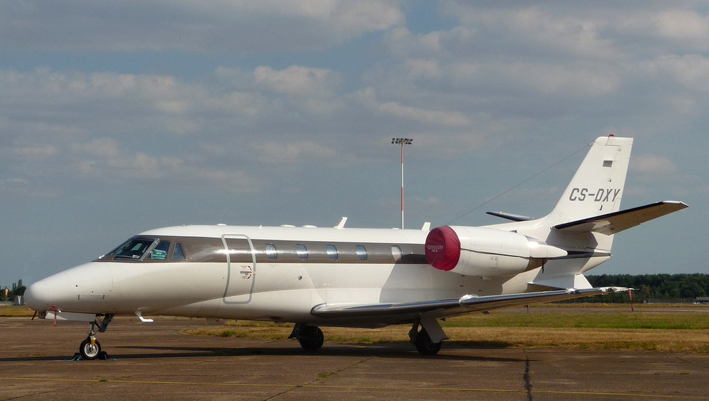 Netjets Europe, Cessna 560XL Citation Excel, CS-DXY<br /> By Correne Calow.