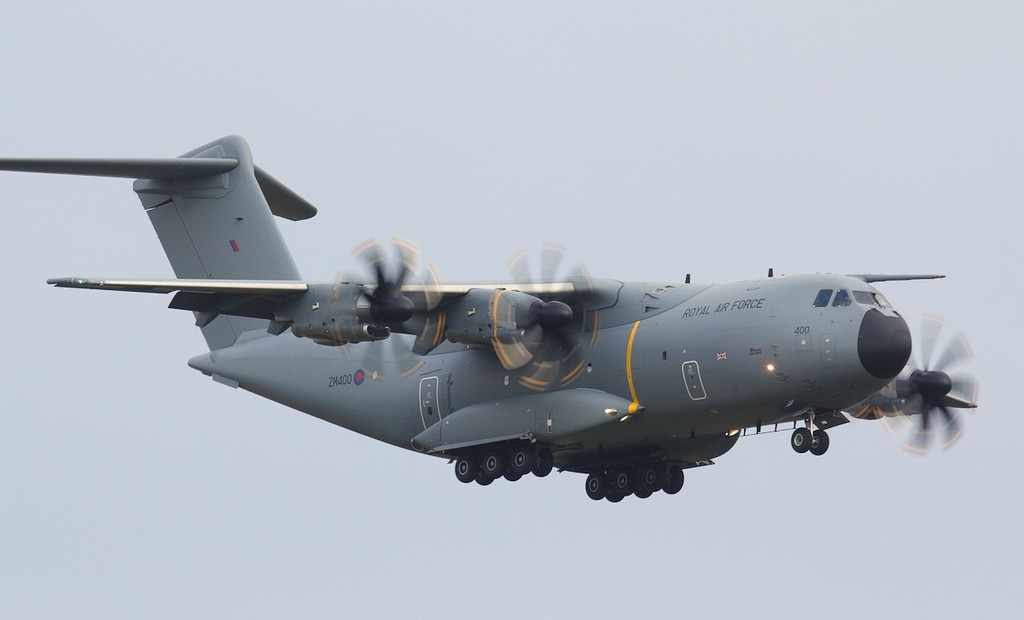 RAF A-400M Atlas, ZM400<br /> By Jim Calow.