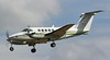 London Executive Aviation Beech B200 Super King Air, G-BYCP was in the hold until the runway re-opened around 15:15.<br /> By Jim Calow.