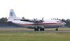 Ukraine Air Alliance (UAA) Antonov An-12BP, UR-CAK<br /> By Jim Calow.