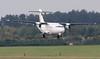 Stobart Air ATR 42, EI-EHH<br /> By Jim Calow.