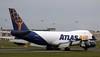 Atlas Air B747-400F, N499MC<br /> By Correne Calow.