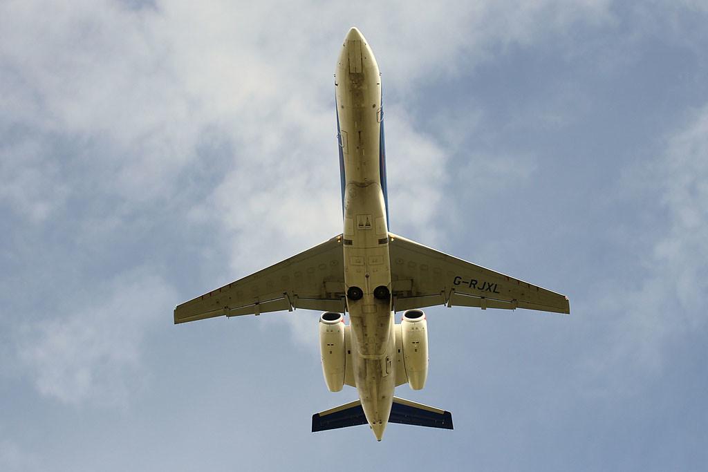 bmi Regional Embraer ERJ-135ER, G-RJXL<br /> By Graham Vlacho.