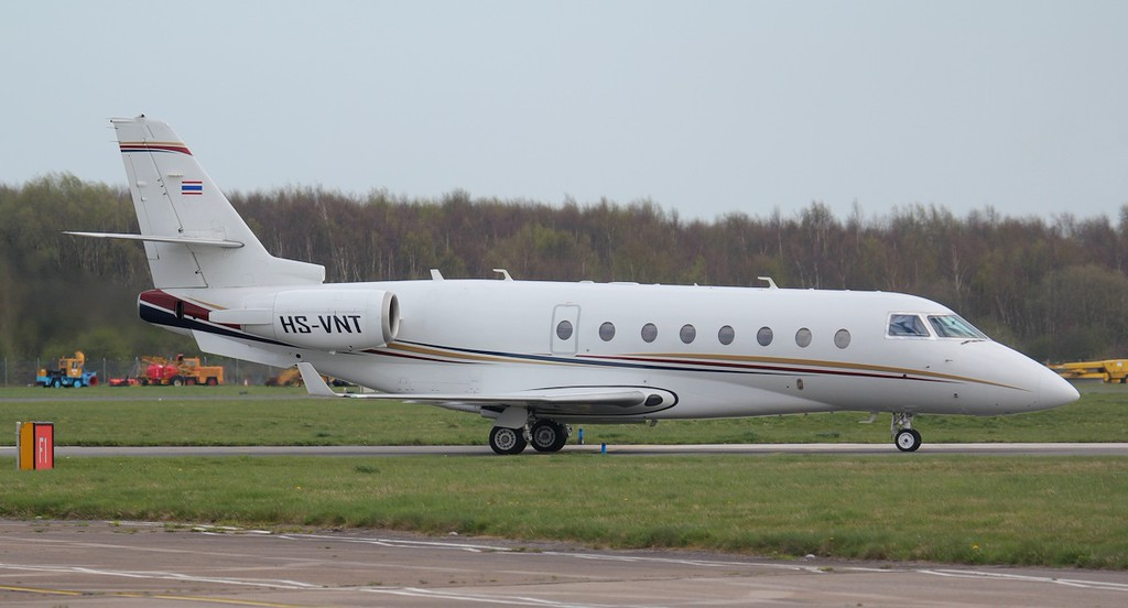 Gulfstream G200 HS-VNT.<br /> By Jim Calow.