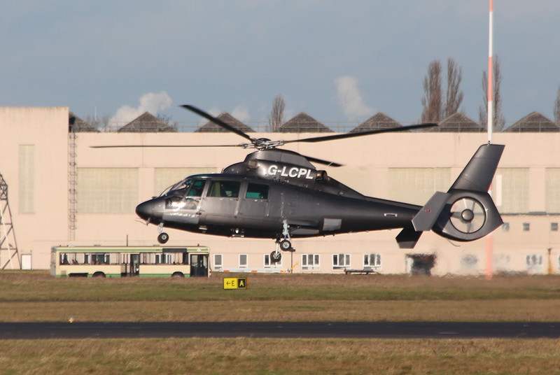 AS-365 Dauphin II, G-LCPL<br /> By Clive Featherstone.