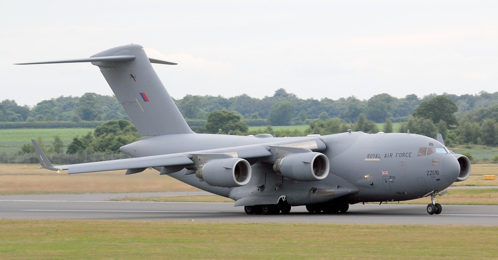 C-17 ZZ176.<br /> By Jim Calow.