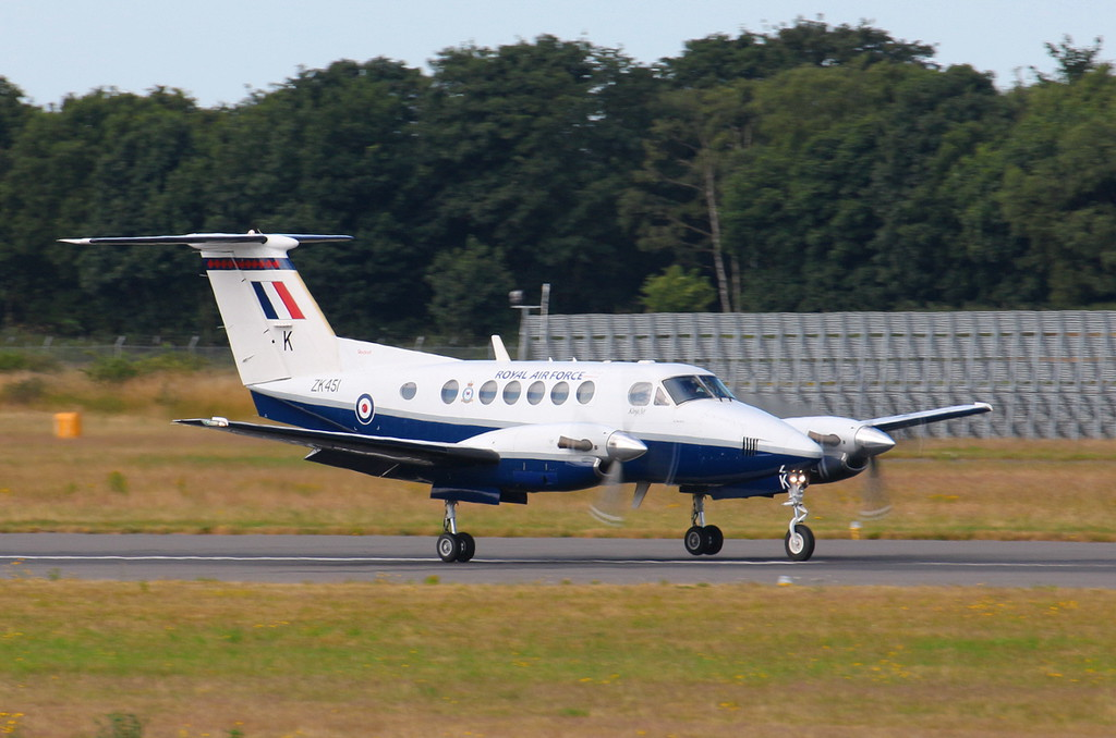 Beech 200 Super King Air ZK451/K,<br /> By Clive Featherstone.
