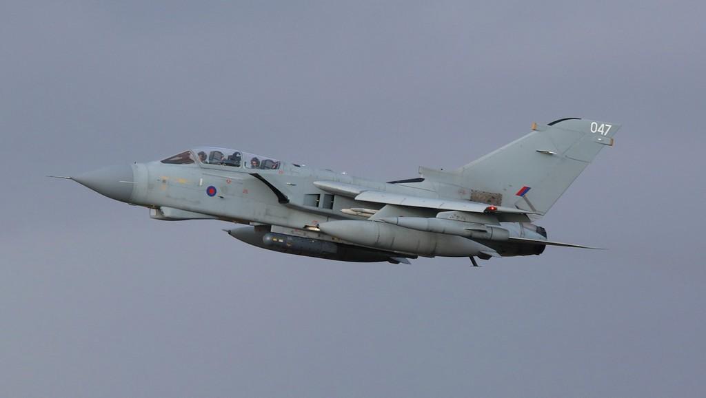 Tornado GR4 ZA556/047.<br /> By Correne Calow.