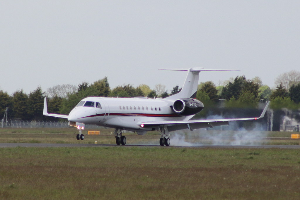 Hangar8 EMB-135BJ Legacy 650, G-OTGL<br /> By Clive Featherstone.