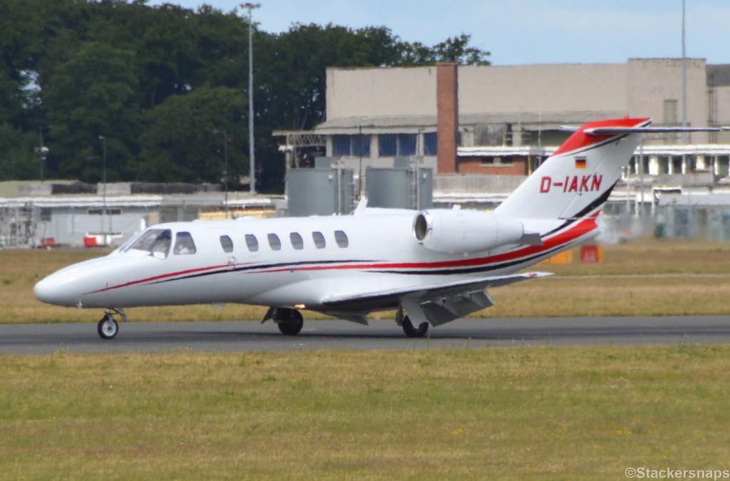 Star Wings Cessna 525A CitationJet CJ2+. D-IAKN.<br /> By Kevin Barwell.