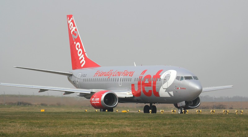 Jet2 737-300 G-CELG.<br /> By Jim Calow.