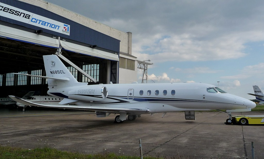 Cessna 680A Citation Latitude, N685CL <br /> By Correne Calow.