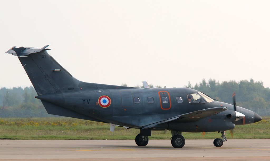 France Air Force Embraer 121AA Xingu  YV/107<br /> By Correne Calow.