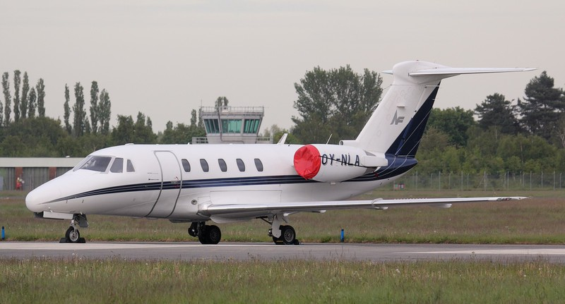 North Flying, Cessna 650 Citation III, OY-NLA<br /> By Jim Calow.
