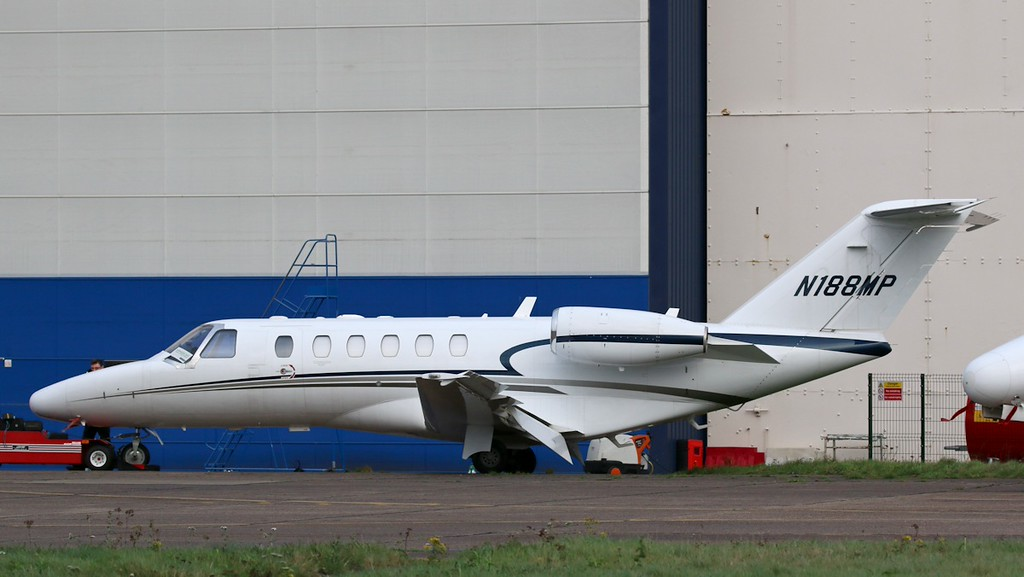 Cessna 525A Citation CJ2+, N188MP<br /> By Correne Calow.