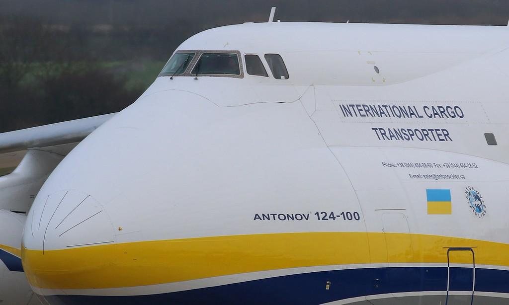 Antonov Design Bureau, An-124, UR-82073<br /> By Correne Calow.