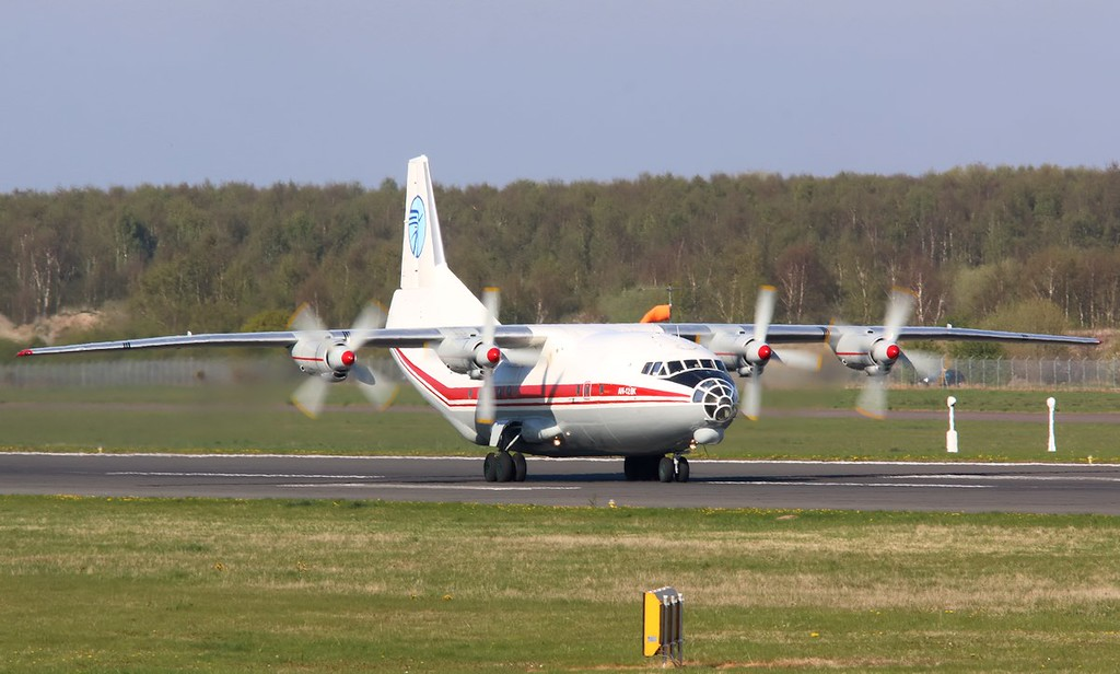 Ukraine Air Alliance (UAA) Antonov An-12BK, UR-CAH<br /> By Correne Calow.