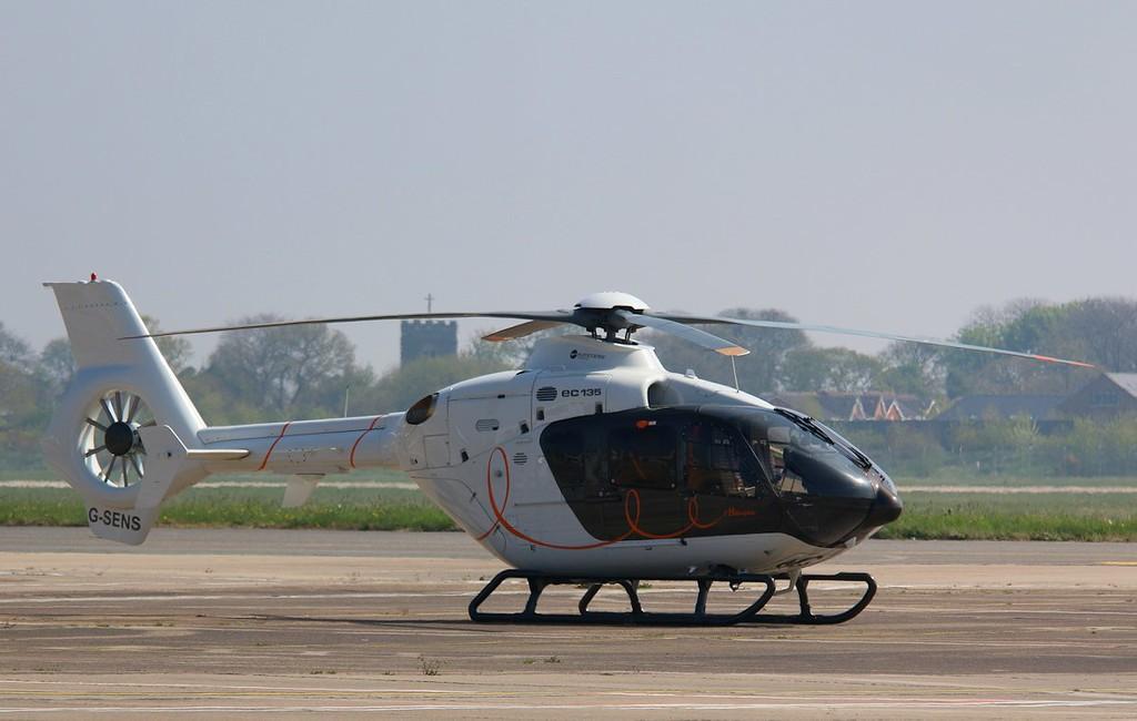 Saville Air Services, Eurocopter EC135 T2+, G-SENS<br /> By Correne Calow.