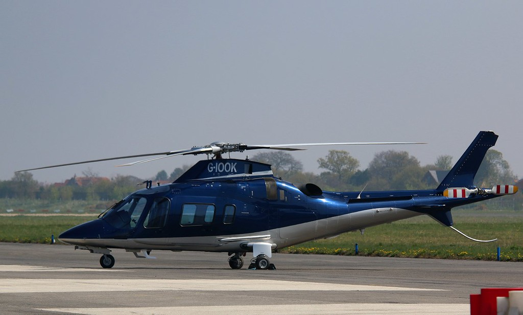 Hundred Percent Aviation Ltd, Agusta A109E, G-IOOK<br /> By Correne Calow.