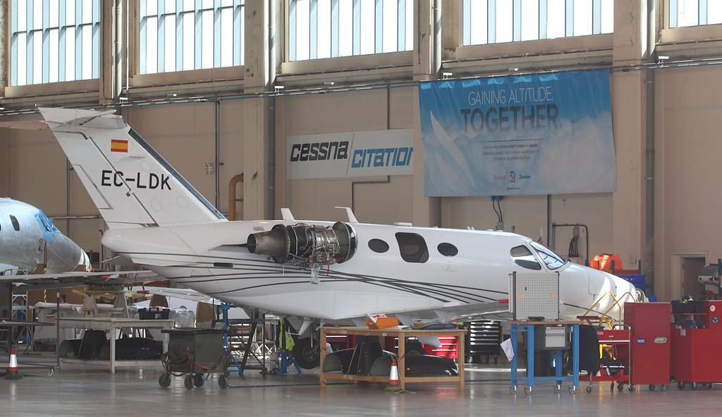 Cessna 510 Citation Mustang, EC-LDK<br /> By Correne Calow.