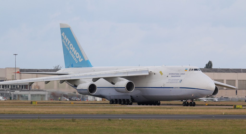 Antonov Design Bureau, An-124-100M, UR-82027<br /> By Jim Calow.