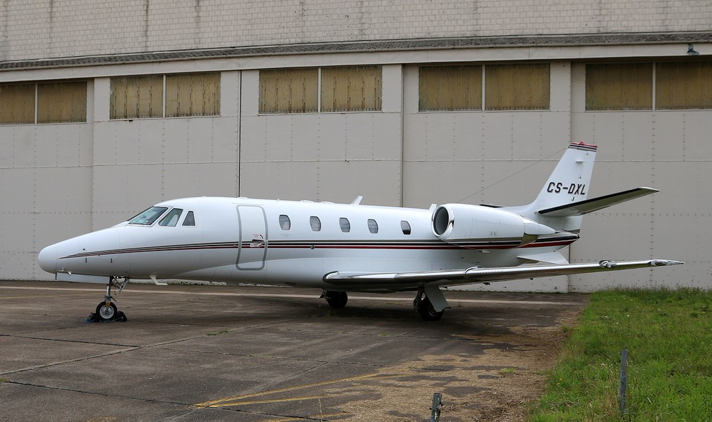 Netjets Europe, Cessna 560XL Citation XLS, CS-DXL<br /> By Correne Calow.