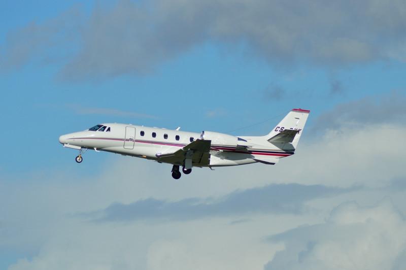 Netjets Cessna 560XL Citation XLS, CS-DXK.<br /> By Kevin Barwell.